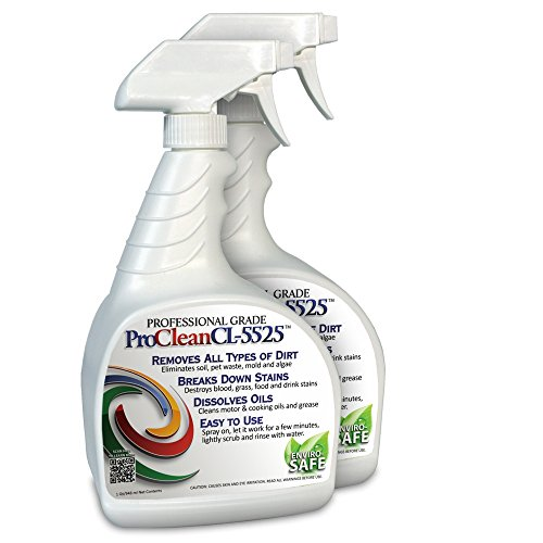 ProClean CL-5525 Multipurpose Multisurface Cleaner 32 oz bottle twin pack