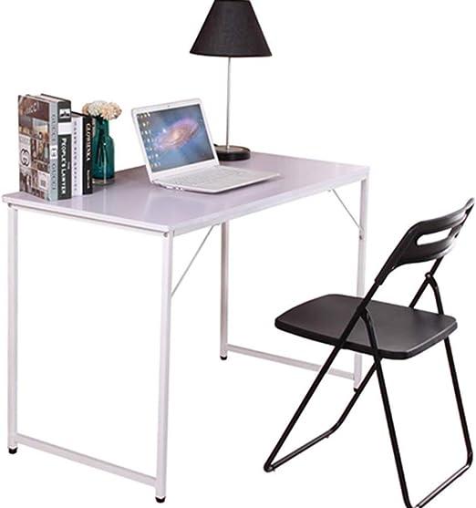 BOJU - Mesa de escritorio para ordenador pequeña plegable para la ...