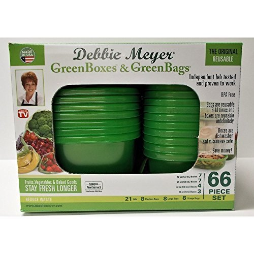Debbie Meyer 66-Pc. Food Storage Set - Green 16870 Debbie Meyer Green Boxes