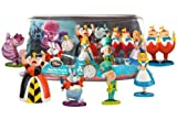 Alice in Wonderland Figure Play Set