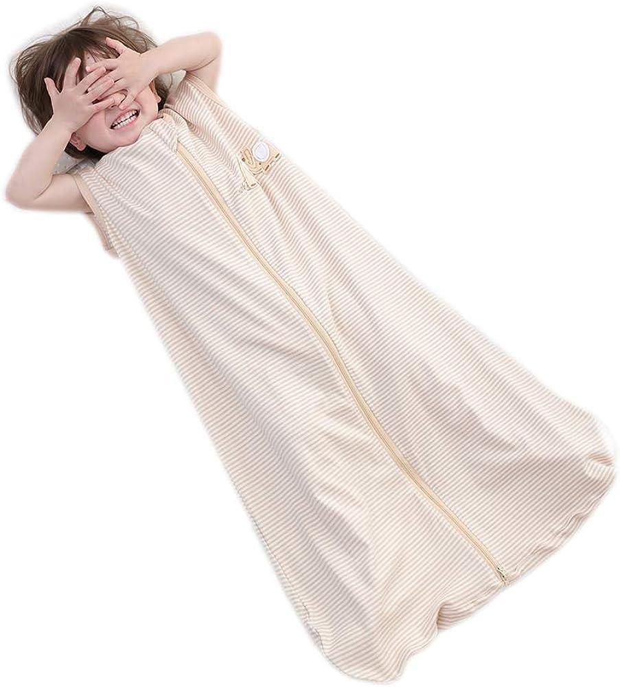 Saco de Dormir de bebé Manta ponible sin Mangas de Verano 100 ...