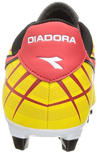 Diadora Mens Forte Md Lpu Scarpa Da Calcio Gialla / Rossa