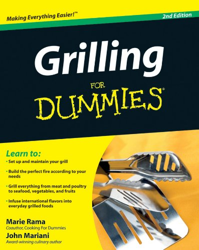 Grilling For Dummies by John Mariani, Marie Rama