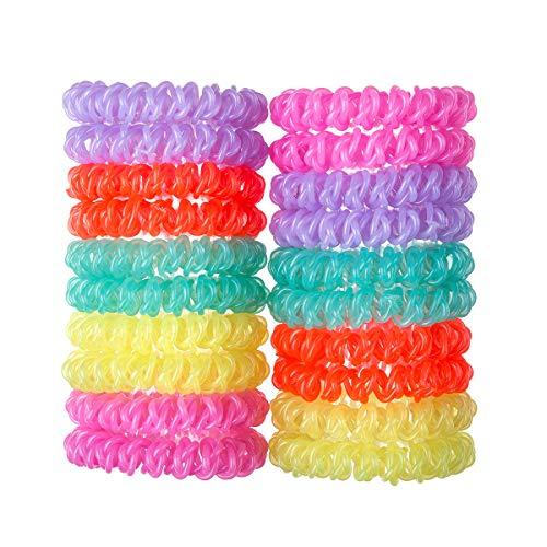 jelly hair elastics - 7