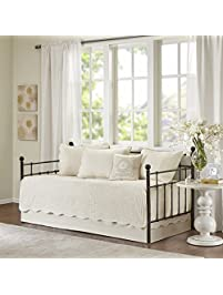 tuscany 6 piece daybed set ivory daybed - Daybed Cover Sets