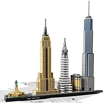 LEGO Architecture New York City 21028, Skyline Collection, Building Blocks