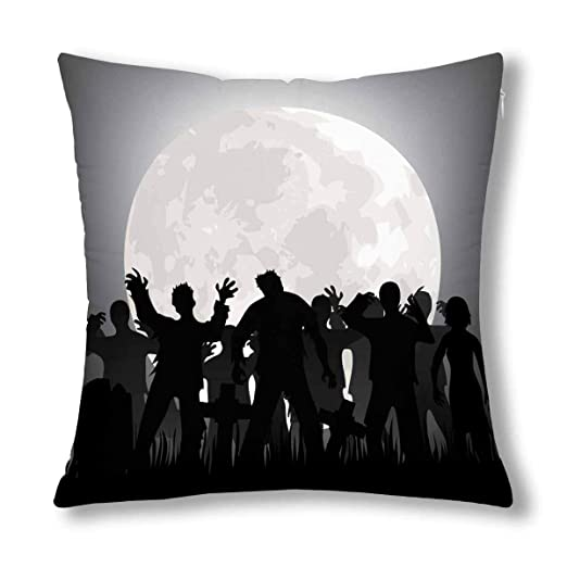 Kinhevao Zombies de Halloween: Lápidas y Luna Llena en el ...