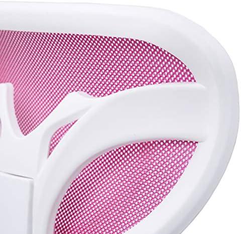 Adec - Touch, Silla de Escritorio giratoria, Silla Juvenil de Oficina, Color Rosa, Medidas: 54 cm (Ancho) x 54 cm (Fondo) x 93-105 cm (Alto) 27