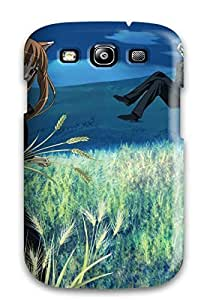 DeniseMA Premium Protective Hard Case For Galaxy S3- Nice Design - Spice And Wolf Anime Other