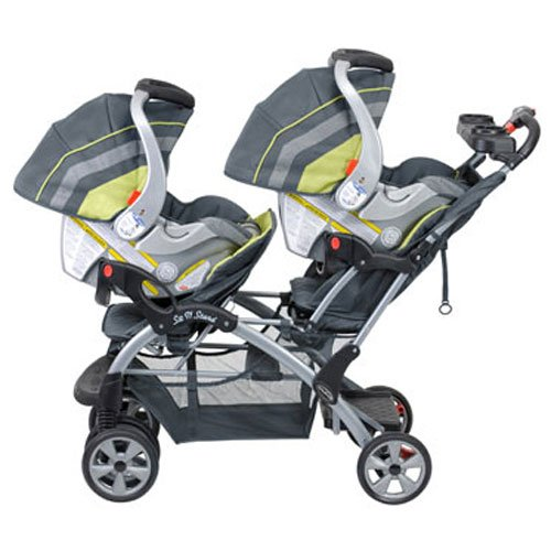 51gjFRfZq5L - Baby Trend Sit N Stand Double, Carbon
