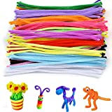 Onepine 200Pcs Pipe Cleaners Chenille Stems for DIY Art Craft Decorations,Assorted Colors (6 mm x 12 Inch)
