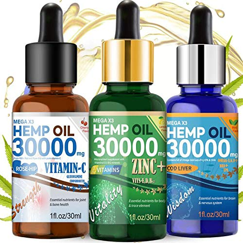 Hemp Oil 350000mg 2 Pack