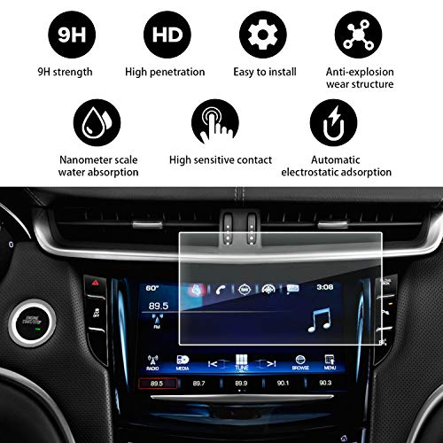 YEE PIN 2015-2018 Cadillac XTS 8 Inch CUE Infotainment Interface Protective Glass
