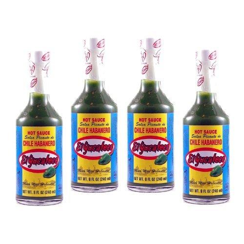 - El Yucateco Green Habanero Hot Sauce 8 oz. (4-Pack) by El Yucateco