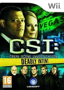CSI: Crime Scene Investigation - Deadly Intent (Wii) [Importación inglesa]