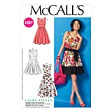 McCall Pattern Company M6955 Misses' Dresses and Belt, Size E5 ''14-16-18-20-22''