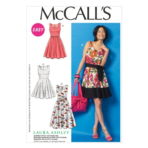 McCall Pattern Company M6955 Misses' Dresses and Belt, Size E5 ''14-16-18-20-22'' by McCall Pattern Company