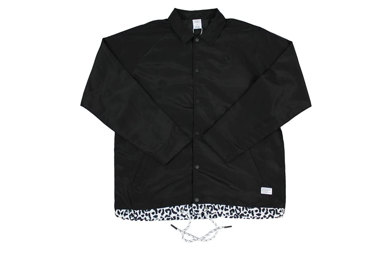 Crooks and Castles Maison Coach Jacket Black