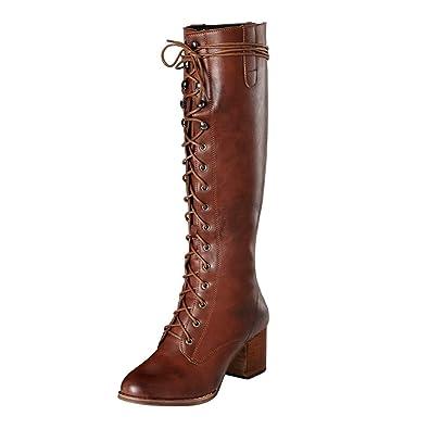 botas altas para mujer otoño invierno cálido botas de montar
