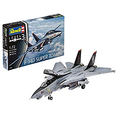 Revell F-14d Super Tomcat 03960 1:72 Scale: Toys & Games