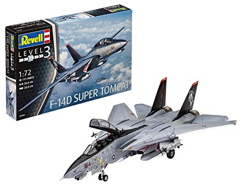 - F-14d Super Tomcat Revell: 1:72 Scale