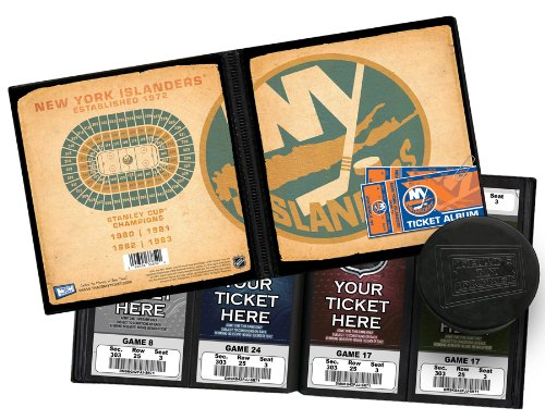 NHL New York Islanders Vintage Design Ticket Album, One - York New Album Islanders Photo
