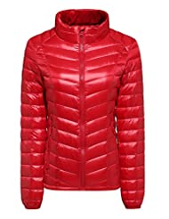 CHERRY CHICK Women's Packable Ultralight Down Jacket