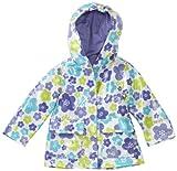 Osh Kosh Baby Girls' Rainslicker, Floral, 12 Months