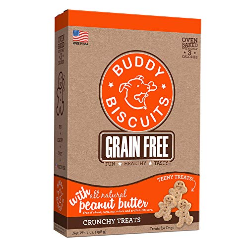 - Buddy Biscuits, Oven-Baked, Grain-Free Crunchy Treats for Dogs
