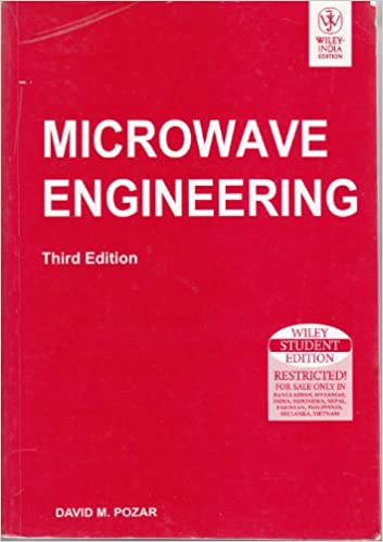 Microwave Engineering Pozar Pdf
