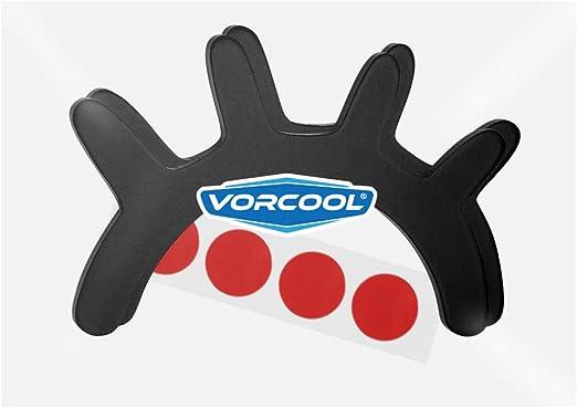 VORCOOL 3D Cils Sticker Mural pour Chambre de b/éb/é Noir