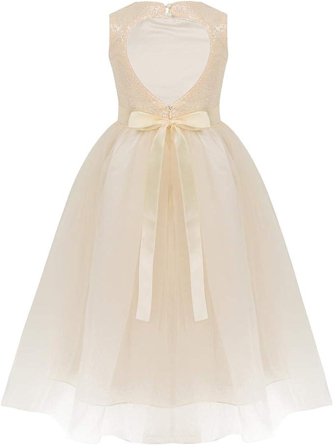 Vestiti Eleganti Bambina 12 Anni.Tiaobug Vestito Da Principessa Bambina 3 12 Anni Abito Da