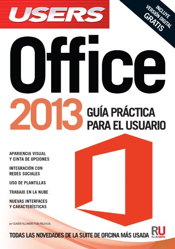 Price comparison product image Microsoft Office 2013: Manuales Users (Spanish Edition)