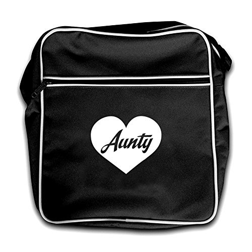 Retro Aunty Black Dressdown Bag Flight Red Heart 4vqqwEz
