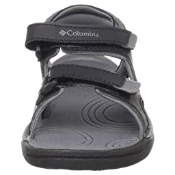 Columbia Sportswear Techsun Sport Sandal (Toddler/Little Kid/Big Kid),Black/Smoked Pearl,8 M US Toddler