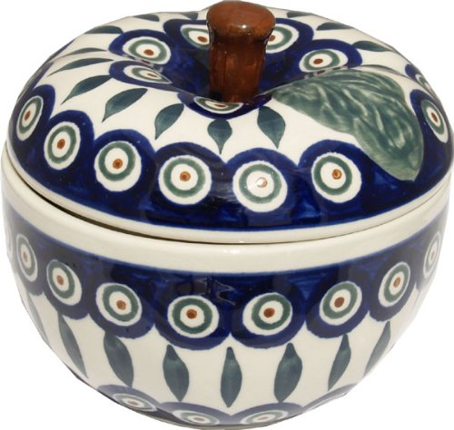 Polish Pottery Apple Baker 1425-56