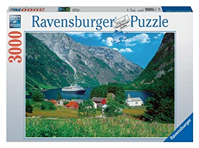Fascinating Norway 3000 Piece Puzzle by Ravensburger