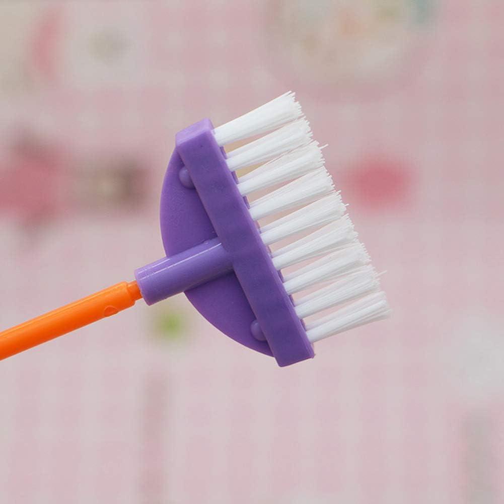 fai finta di sapone 4 Pezzi Pulizia Bambini Giocattolo Set-Scopa Polvere Pan e pennello