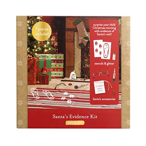 Kate + Milo Santa Evidence Kit, Surprise Your Child This Christmas Season With Evidence of Santa's Visit!