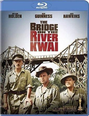 The Bridge On The River Kwai Blu Ray Alec Guiness William Holden Jack Hawkins Sessue Hayakawa Geoffrey Horne James Donald David Lean Sam Spiegel Movies Tv