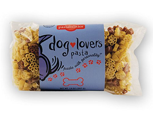 Pastabilities Dog Lovers Fun Novelty Pasta, 14 Oz. Bag, (Pack of 4)