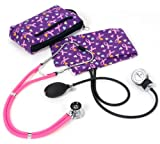 Prestige Medical A2 Aneroid Sphygmomanometer Sprague-Rappaport Kit, Love and Believe