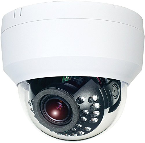 HDView (Business Series) IP License Plate Camera 5MP HD Megapixel Network HLC Shutter H.265 WDR Motorized Lens PoE 3-Axis IR Infrared Vandalproof Dome ONVIF, VCA Intelligent Analytics Review