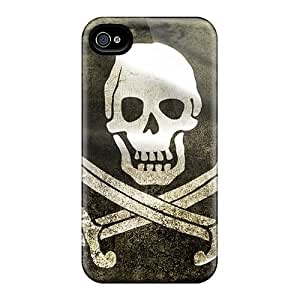 Shock-dirt Proof Pirate Flag Cases Covers For Iphone 6
