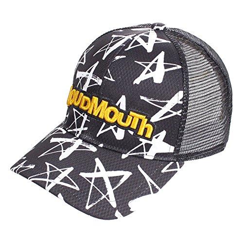 ラウドマウスゴルフ Loud Mouth Golf 帽子 メッシュキャップ