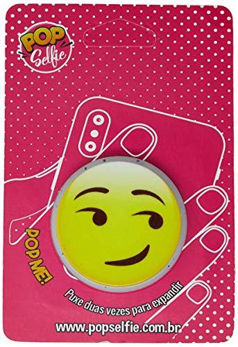 Apoio para celular - Pop Selfie - Original Emoji Ps339, Pop Selfie, 172356, Branco