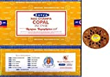 OMG-Deal Satya Nag Champa Copal Incense Sticks -12Packs x 15g (180g) with Small Round Wooden Stand