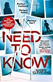Need To Know by  Karen Cleveland in stock, buy online here