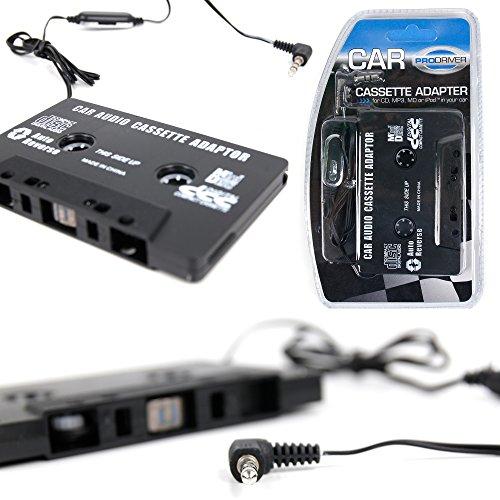 DURAGADGET Cassette to MP3 Car Converter - Retro Style Ta...