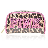 Victoria's Secret Pink Leopard Print Small Cosmetic Bag With Original Tag From VS